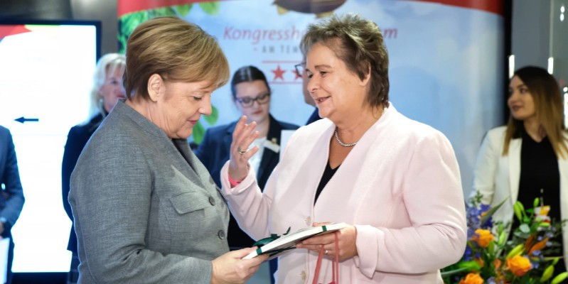 Bundeskanzlerin Angela Merkel in Certified-Hotels