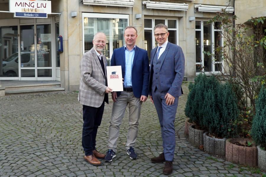 Block House plant Restaurant-Eröffnung in Bielefeld