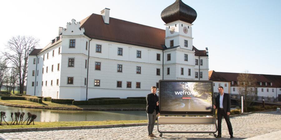 Schloss Hohenkammer und die weframe AG unterstützen Trainer in schwierigen Zeiten