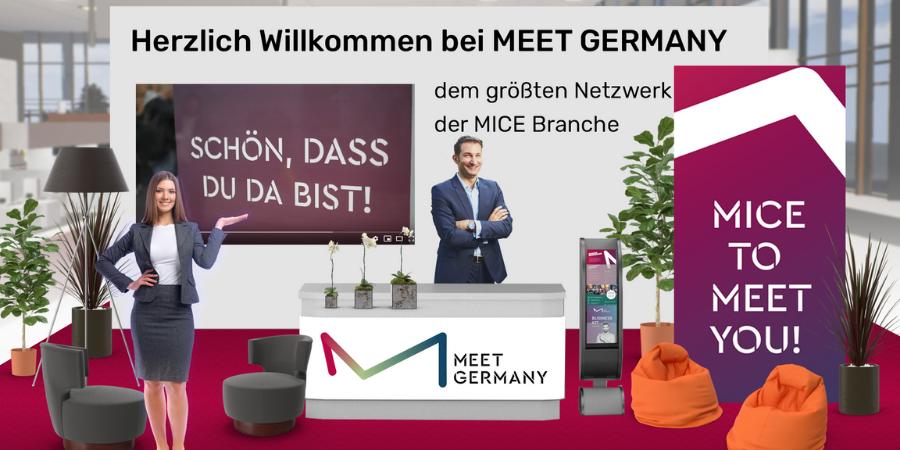 MEET GERMANY goes virtual