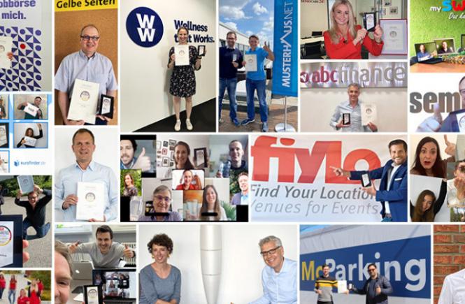 Verbraucher empfehlen fiylo.de als bestes Eventportal 2020
