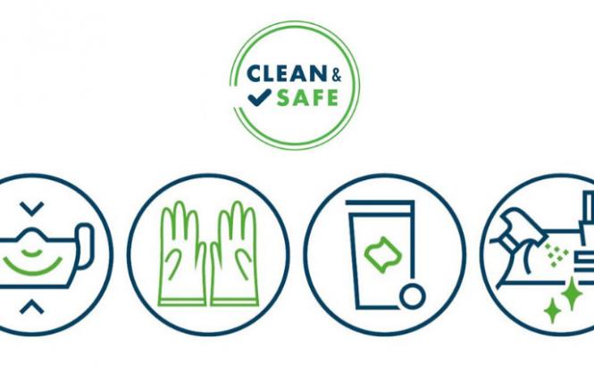 """""""Clean & Safe"""" Siegel für hygienisch sichere Veranstaltungen"""