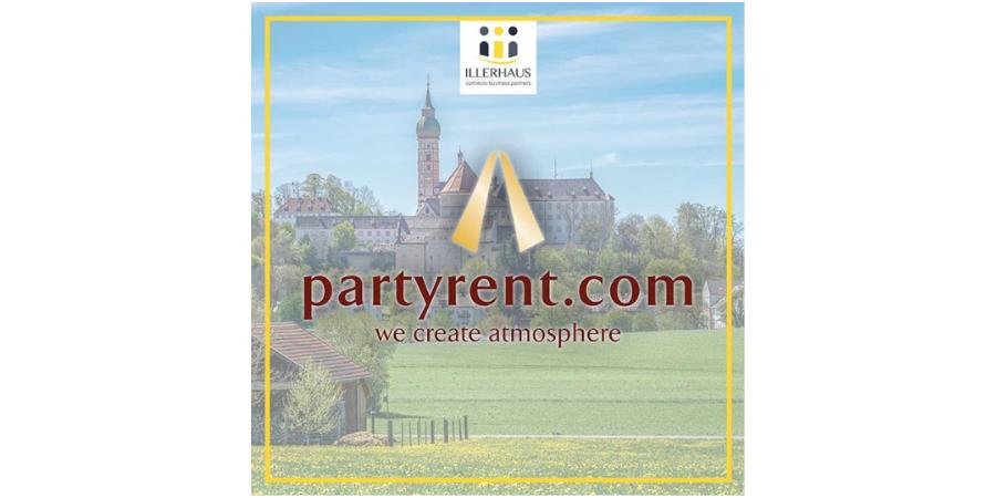 ILLERHAUS kooperiert mit Party Rent und Capacity