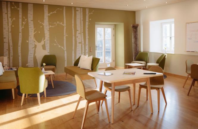 Schloss Hohenkammer bietet neue Form für hybride Meetings