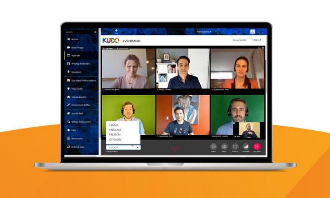 Neue Partnerschaft: EventMobi und Kudo ermöglichen Live-Dolmetschen
