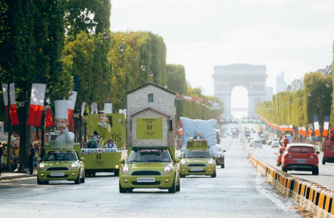 LOGIS HOTELS sind erneut Partner der Tour de France!