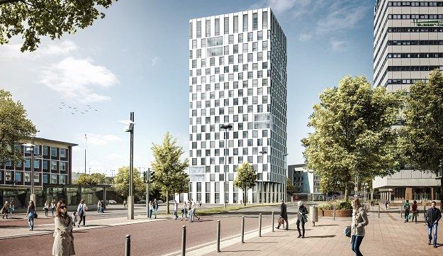 Neues Premier Inn Hotel Bochum im 21stöckigen City-Tower-BO