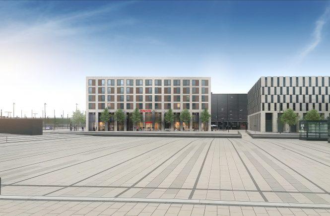 Baubeginn für zweites Hotel am BER - InterCity-Hotel