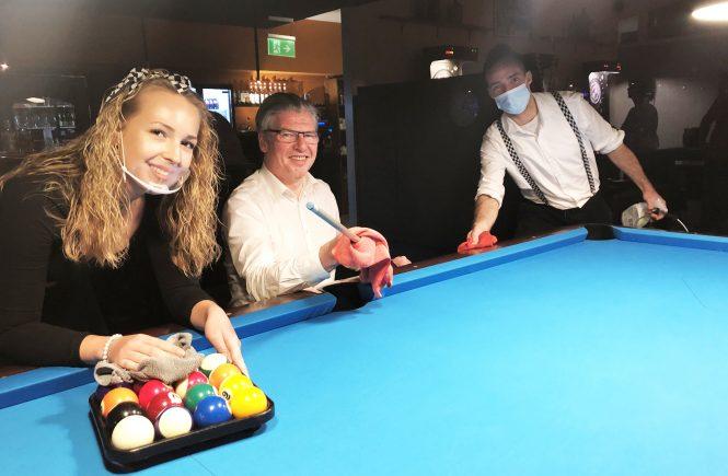 Höchste Hygienestandards im Billard Sport Casino sind Vorbild für die Branche