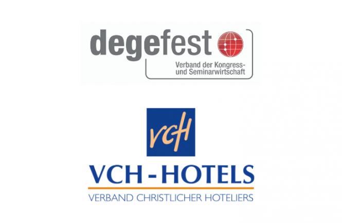 degefest - Verband der Kongress- und Seminarwirtschaft e.V. kooperiert mit der VCH-Hotelkooperation