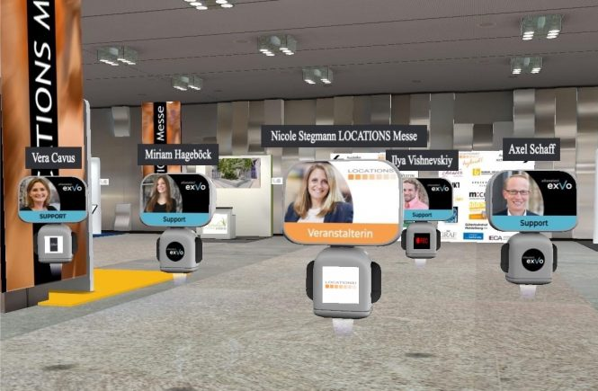 LOCATIONS VIRTUELL: Erfolgreiches rein digitales Messe-Event