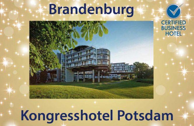 Kongresshotel Potsdam ist Brandenburgs bestes Certified Business Hotel 2020