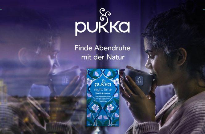 Pukka Bio-Kräuter für eine entspannende Nachtruhe