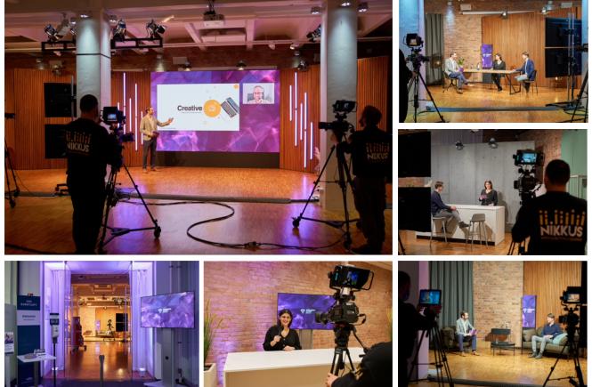 Der Spreespeicher Berlin wird zum Streaming Studio Berlin