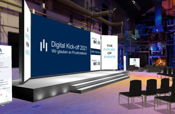 Digitales Kick-off Meeting als Live-Erlebnis: CPH Hotels ging mit großem Programm online