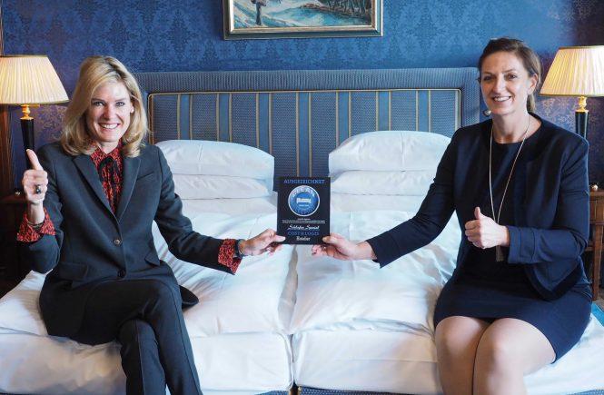 Clean-Sleeping Award für die Schweiz