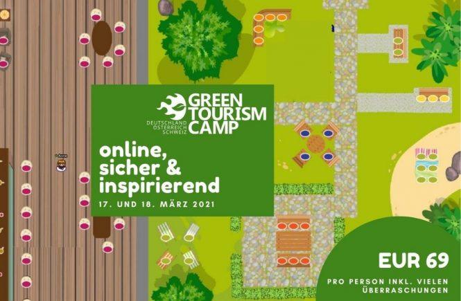 Green Tourism Camp geht am 17. und 18. März 2021 online