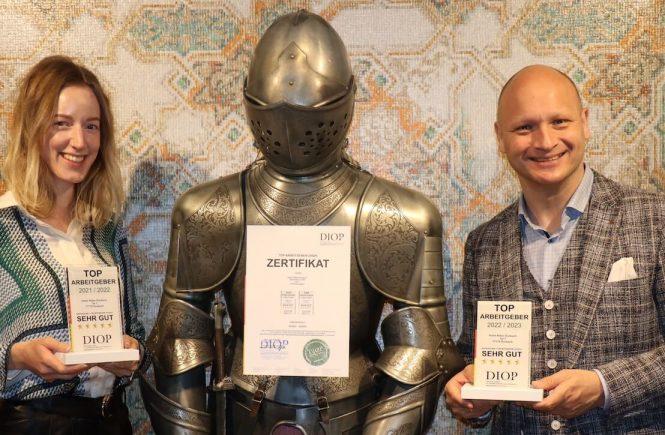 Wellnesshotel im Schwarzwald als Top Arbeitgeber ausgezeichne