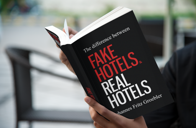 "Neues Buch ""FAKE HOTELS vs REAL HOTELS"""