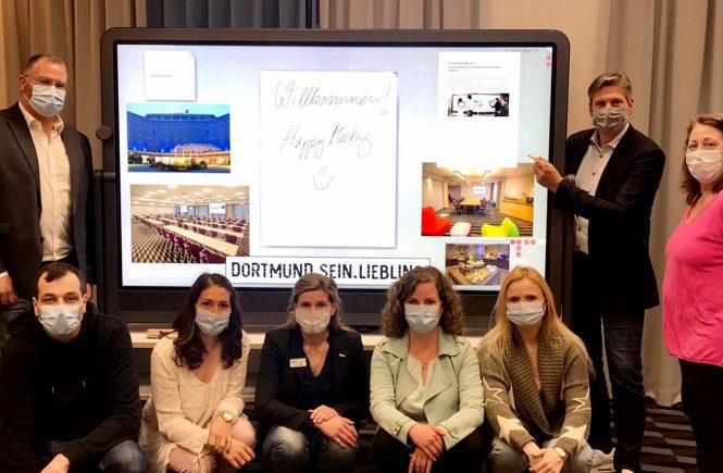 Die neue Dimension des Tagens - Radisson Blu Hotel, Dortmund auf digitalem Vormarsch