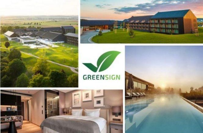 Der Öschberghof mit dem Nachhaltigkeitssiegel GreenSign zertifiziert