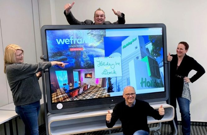 """Holiday Inn Lübeck: """"Weframe One"""" revolutioniert Tagungsangebote"""