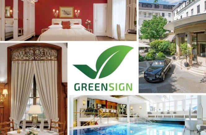 Der Europäische Hof in Heidelberg mit GreenSign ausgezeichnet
