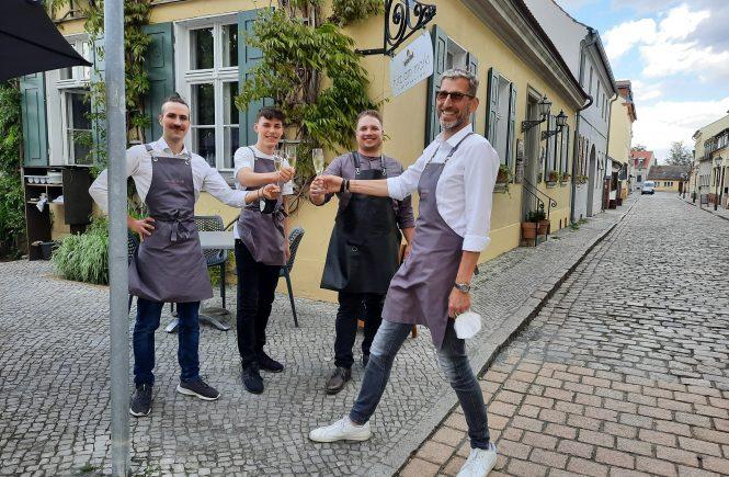 Brandenburger Tapas in Werder: Saisoneröffnung des fritz am markt