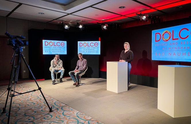 Dolce Live-Studio: Alles unter einem Dach