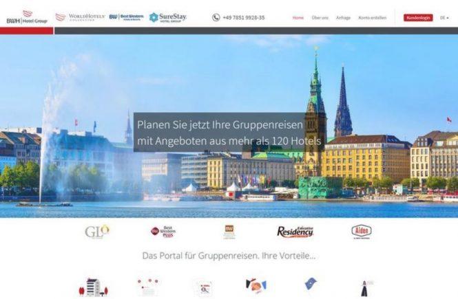 BWH Hotel Group: Neues Online-Angebot für Gruppenreisen