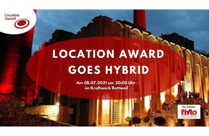 """Eventlocation"""" gesucht! Bewerbungsstart für den Location Award 2021"""