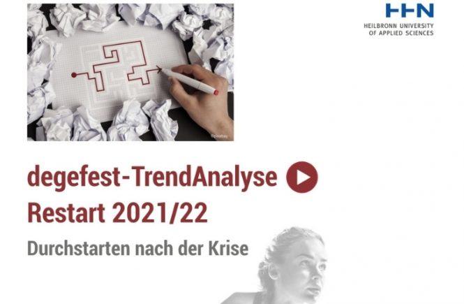 """degefest-TrendAnalyse """"Restart 2021/22"""" erschienen!"""