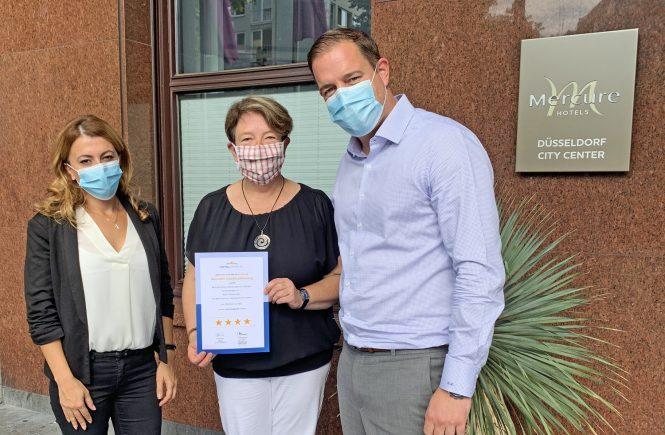 Mercure Hotel Düsseldorf City Center erhält wieder vier Sterne und setzt umfassendes Hygienekonzept ALLSAFE für sicheres Reisen um