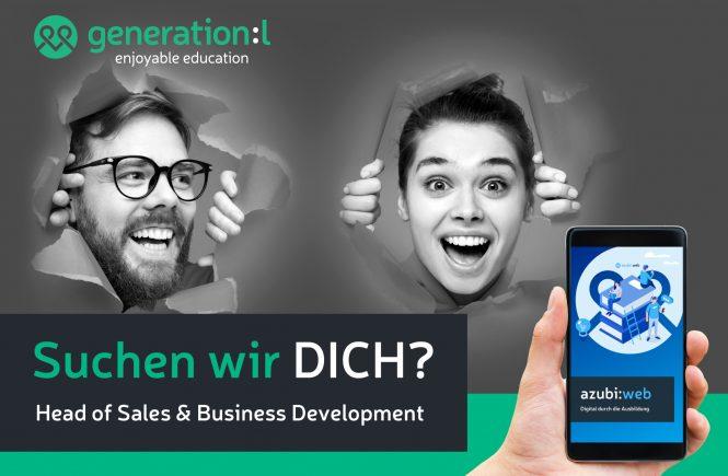 Head of Sales & Business Development bei Generation:L