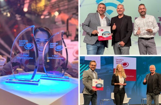 Location Award 2021: Peppermint Pavillon und H´Up in Hannover erhalten Siegertrophäen