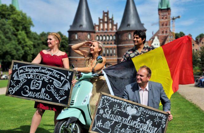 """Holiday Inn Lübeck: """"#stayingalivetogether"""" goes Brüssel"""