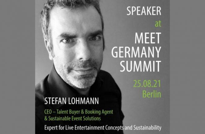 Stefan Lohmann als Speaker beim Meet Germany Summit