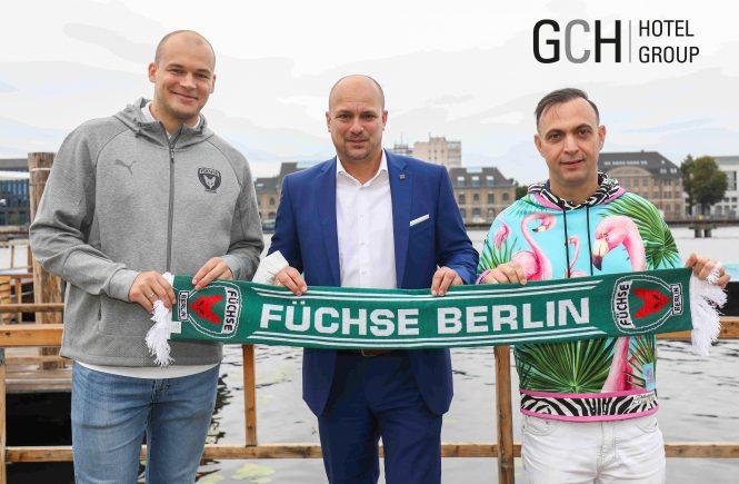 GCH Hotel Group ist neuer Partner der Füchse Berlin
