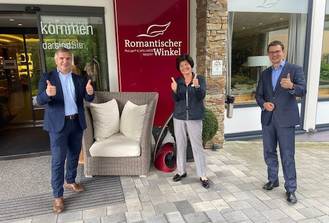 RoLigio® und Wellness Resort Romantischer Winkel besteht Certified Prüfungen mit EXZELLENT
