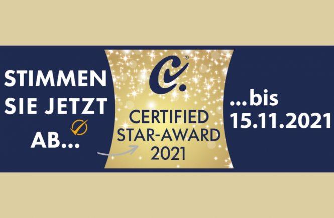 Certified Star Award 2021- Wir stellen die nominierten Certified Business Hotels vor
