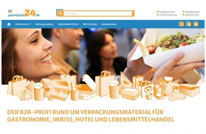 Pack4Food24.de - Der B2B Onlineshop für Gastronomie