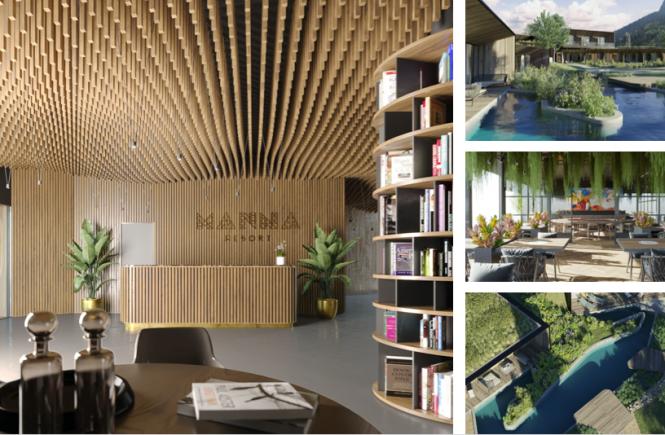 Das neue Manna Resort steht für Eleganz