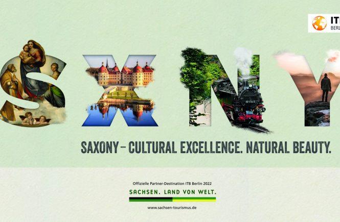 Sachsen ist offizielles Partnerland der ITB Berlin 2022